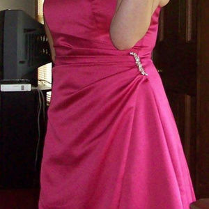 Pink Prom Ball Gown